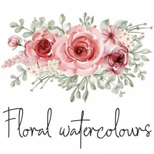 Floral Watercolours (Νερομπογιές)