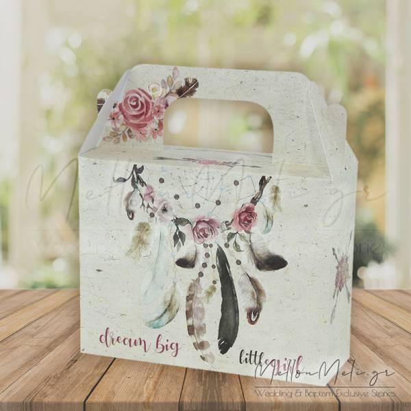 """Κουτί Δώρου τ. Lunch Box """"Ονειροπαγίδα"""", 15 τμχ."""
