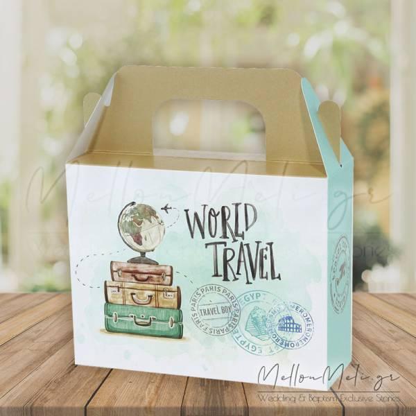 """Κουτί Δώρου τ. Lunch Box """"Fly Away"""", 15 τμχ."""
