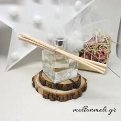 Μπομπονιέρα Αρωματικό με ξυλάκια σε γυάλινο βάζο Soap Tales