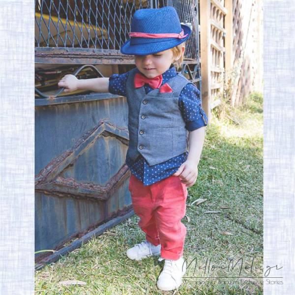 Bambolino Tony, 8462 - Βαπτιστικό Σετ για αγόρι