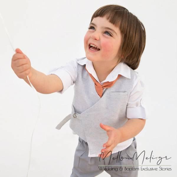 Bambolino Zac, 9417 - Βαπτιστικό Σετ για αγόρι