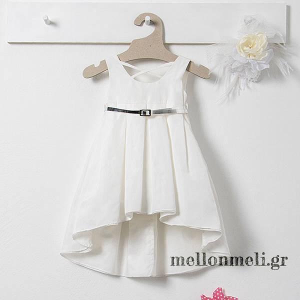 Bambolino Kanela, 8537 - Βαπτιστικό Φόρεμα με τουνίκ