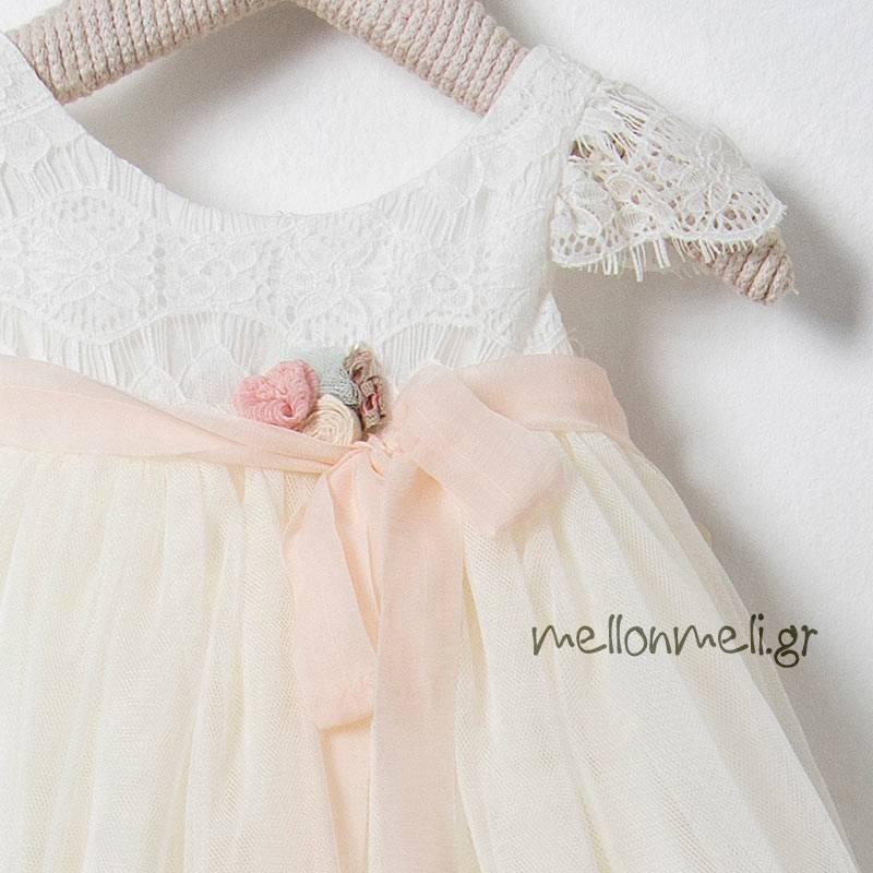 94ad24a5104 Bambolino Balou, 8550 - Βαπτιστικό Φόρεμα