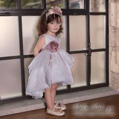"Dolce Bambini - Βαπτιστικό Φόρεμα ""Carmela"", κωδ. 544-1"