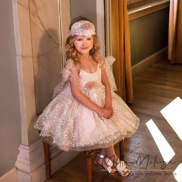 Dolce Bambini - Βαπτιστικό Φόρεμα, κωδ. 6025