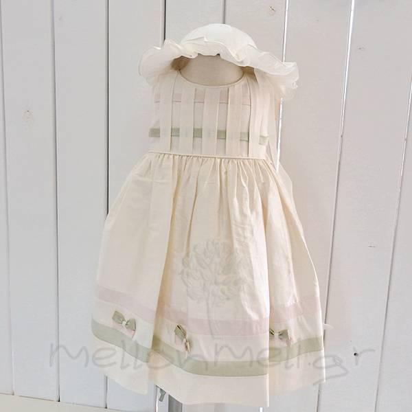 Letante - Βαπτιστικό Μεταξωτό Φόρεμα