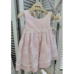 fc4730e79c3c Aslanis Baby - Βαπτιστικό Φόρεμα