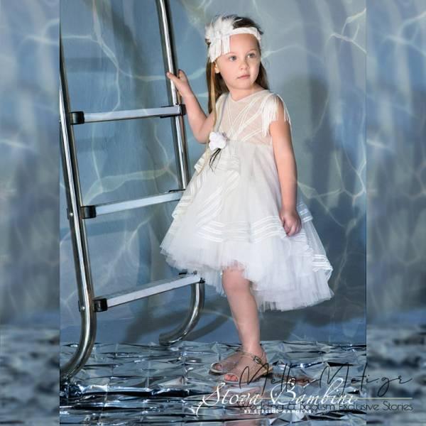Stova Bambini - Βαπτιστικό Φόρεμα G09