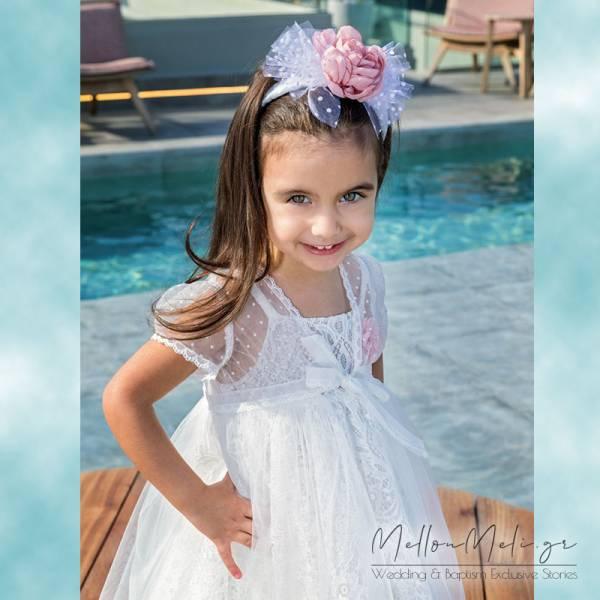 Stova Bambini - Βαπτιστικό Φόρεμα G8