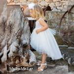Stova Bambini - Βαπτιστικό Φόρεμα G6