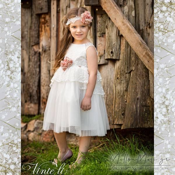 Vinte Li - Βαπτιστικό φόρεμα, κωδ. 2914