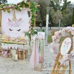 Στολισμός Βάπτισης-Candybar Unicorn