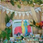 Στολισμός Βάπτισης-Candybar Τροπικό