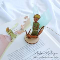 Μικρός Πρίγκιπας-Αλεπού, Μπομπονιέρα Ξύλινο μίνι σταντ