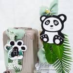 """Set Βάπτισης με Τροχήλατη Βαλίτσα """"Panda Bear"""""""