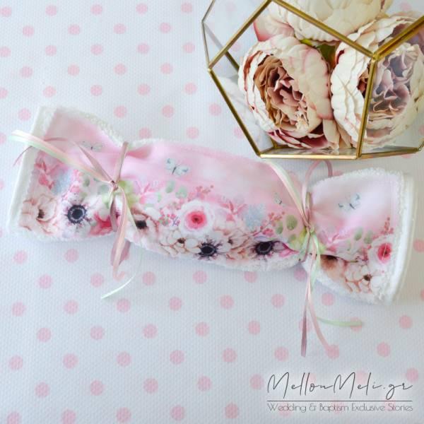 Μπομπονιέρα πετσέτα Floral Watercolours
